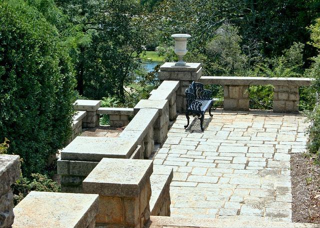kamenná terasa