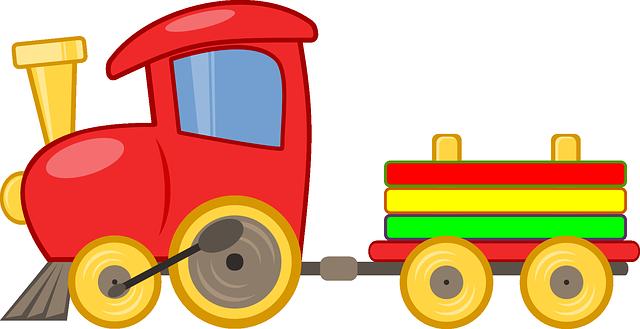 Ilustrace hračky pro dítě