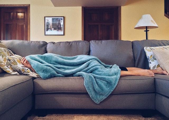 Interiér obývacího pokoje-sedací souprava