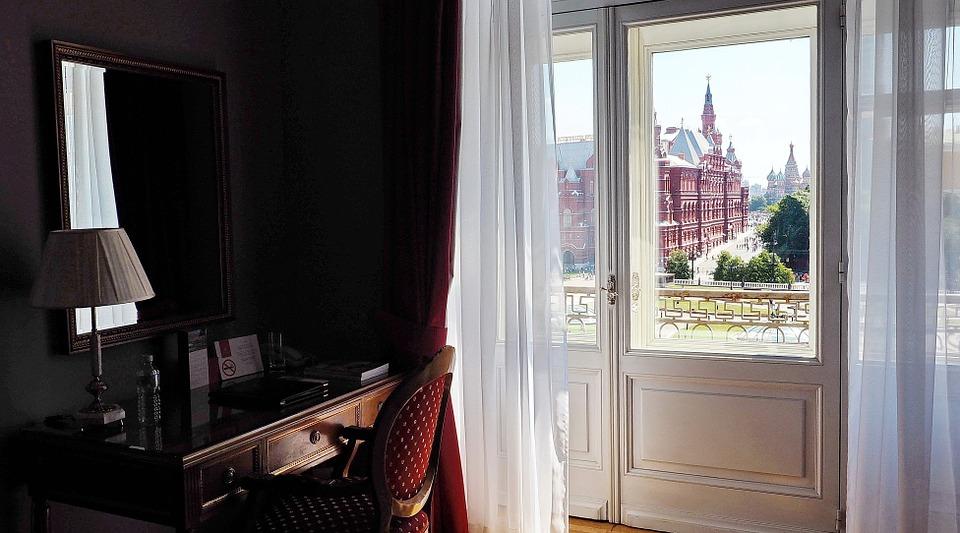 okno z pokoje